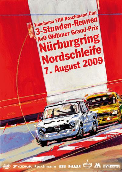 Spa Grand Prix >> Krebs Illustration Studios